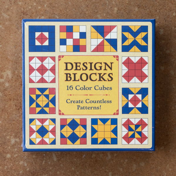 Design Blocks 16 Color Cubes