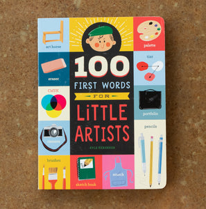 100 First Words For Little Artists