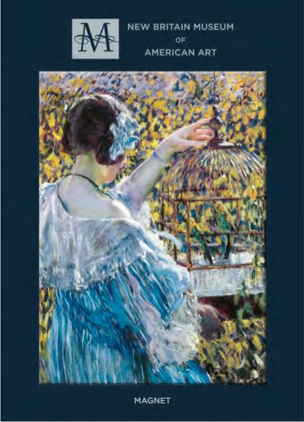 The Bird Cage, Frederick Carl Frieseke - Magnet