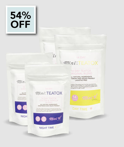 Mini:TeaTox (28 Day Daytime/Nighttime)