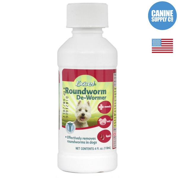 Excel Roundworm De-Wormer Liquid | Canine Supply Co.