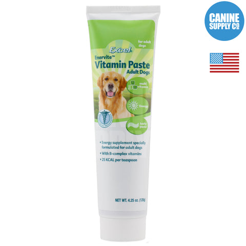 Excel Enervite Vitamin Paste Adult | Canine Supply Co.