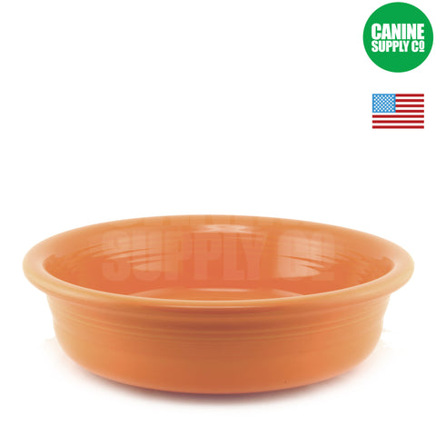 Fiesta Petware Tangerine Porcelain Dog Bowl