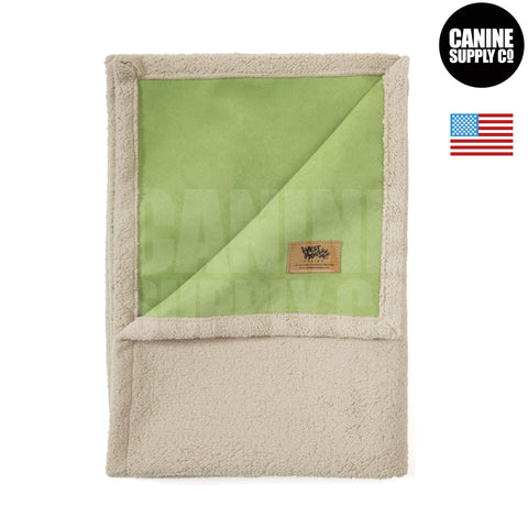 West Paw Design Big Sky Blanket®, Jade | Canine Supply Co.
