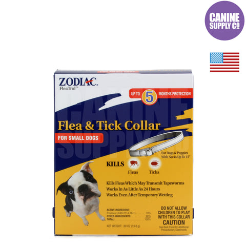 Zodiac® Flea & Tick Collar For Dogs, Small | Canine Supply Co.