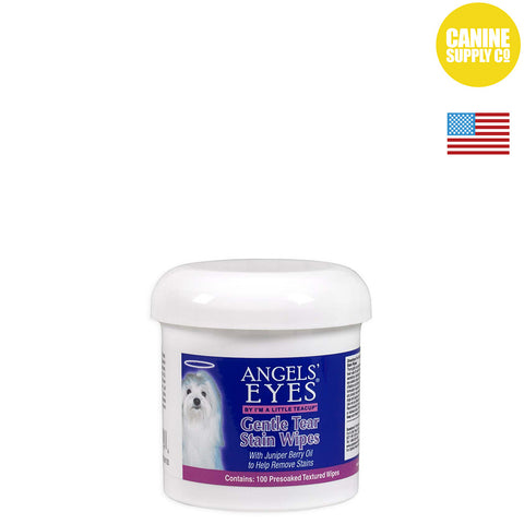 Angels' Eyes® Gentle Tear Stain Wipes | Canine Supply Co.