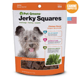 Pet Greens® Jerky Squares Chicken Flavor | Canine Supply Co.