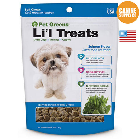 Pet Greens® Li'l Treats Salmon Flavor | Canine Supply Co.