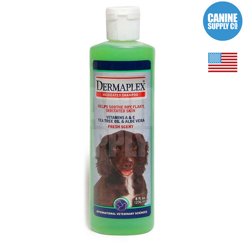 IVS Dermaplex Medicated® Shampoo, 8-oz | Canine Supply Co.