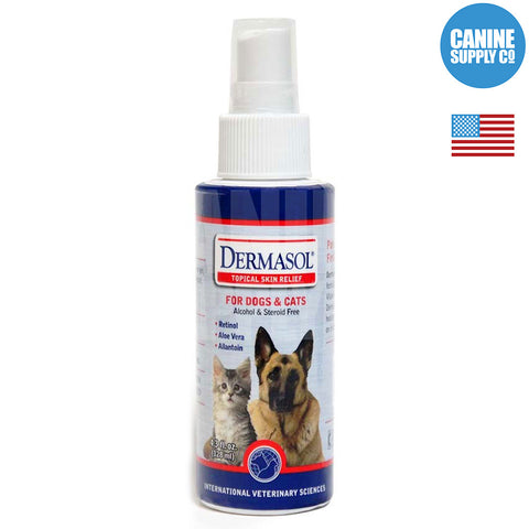 IVS Dermasol Skin Care Spray | Canine Supply Co.