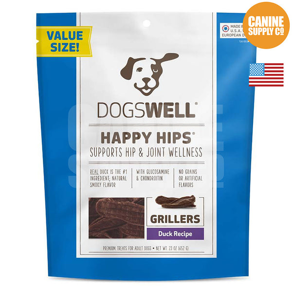Dogswell Happy Hips® Grillers Duck Treats | Canine Supply Co.