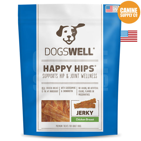 Dogswell Happy Hips® Chicken Breast Jerky Treats | Canine Supply Co.
