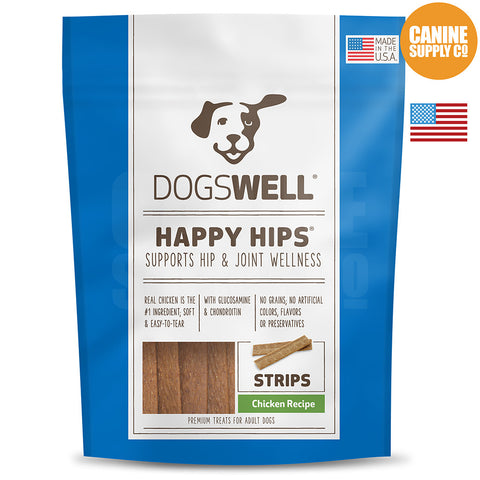 Dogswell Happy Hips® Strips Chicken Treats | Canine Supply Co.