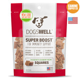 Dogswell Super Boost® Squares Chicken with Cranberry Treats | Canine Supply Co.