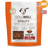 Dogswell Vitality® Duets Bison and Cheddar Treats | Canine Supply Co.