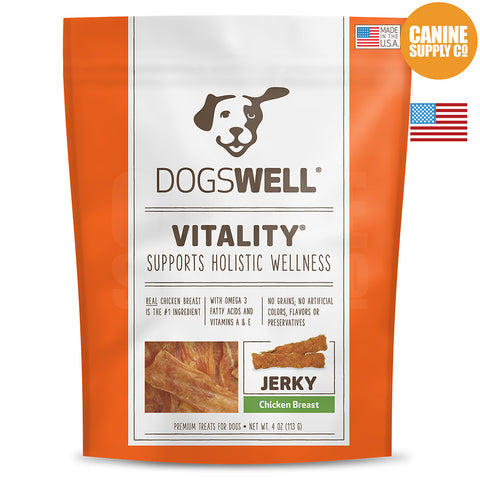 Dogswell Vitality® Chicken Breast Jerky Treats | Canine Supply Co.
