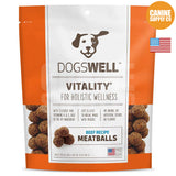Dogswell Vitality® Meatballs Beef Recipe Treats | Canine Supply Co.