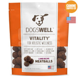 Dogswell Vitality® Meatballs Lamb Recipe Treats | Canine Supply Co.