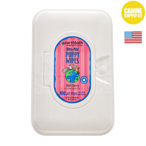 Earthbath® Puppy Grooming Wipes | Canine Supply Co.