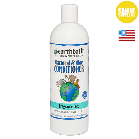 Earthbath® Oatmeal & Aloe Conditioner Fragrance Free | Canine Supply Co.