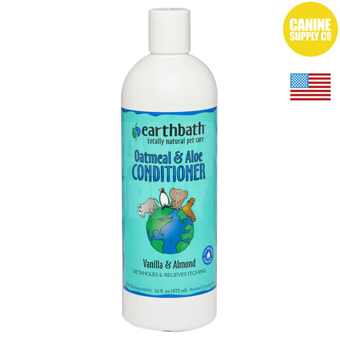 Earthbath® Oatmeal & Aloe Conditioner | Canine Supply Co.
