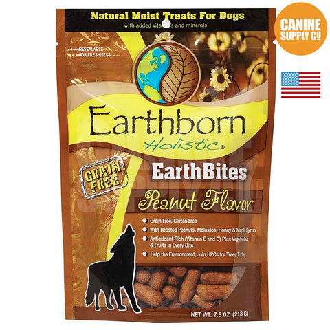 Earthborn Holistic EarthBites™ Peanut Flavor | Canine Supply Co.