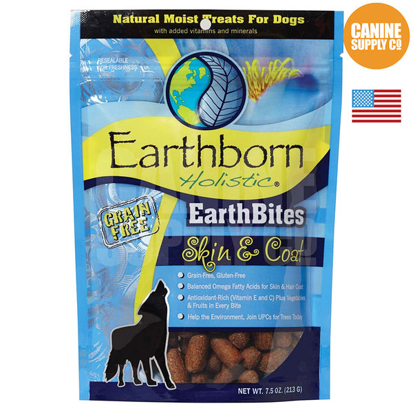 Earthborn Holistic EarthBites™ Skin & Coat | Canine Supply Co.