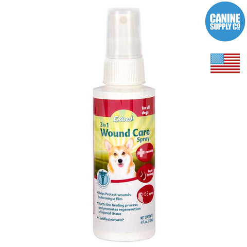 Excel 3 in 1 Wound Care Spray | Canine Supply Co.