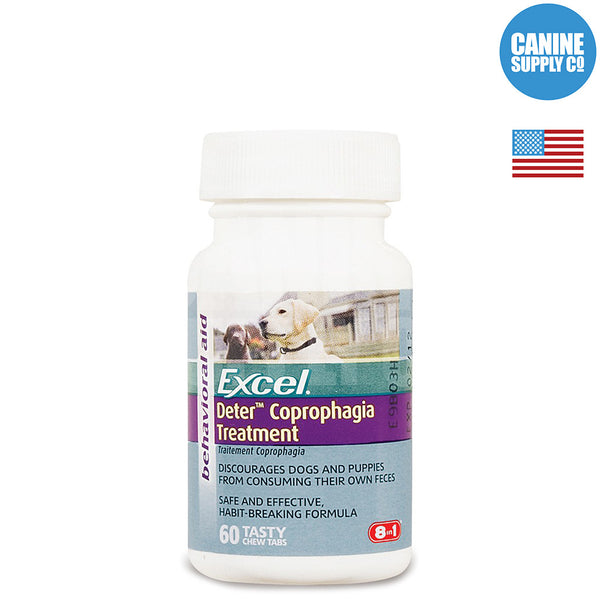 Excel Deter Coprophagia Treatment Tablets | Canine Supply Co.