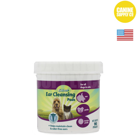 Excel Ear Cleansing Pads | Canine Supply Co.