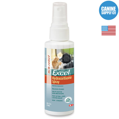 Excel Hydrocortisone Spray | Canine Supply Co.