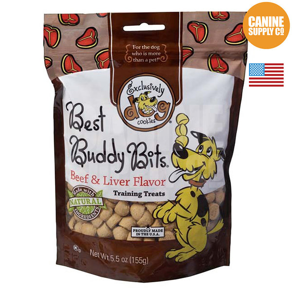 Exclusively Dog Best Buddy Bits Beef & Liver Flavor | Canine Supply Co.