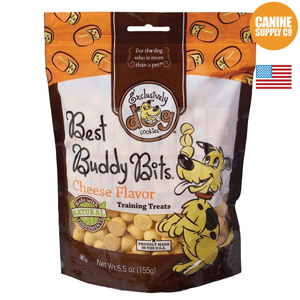 Exclusively Dog Best Buddy Bits Cheese Flavor | Canine Supply Co.