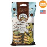 Exclusively Dog Sandwich Cremes Carob and Vanilla Flavor | Canine Supply Co.