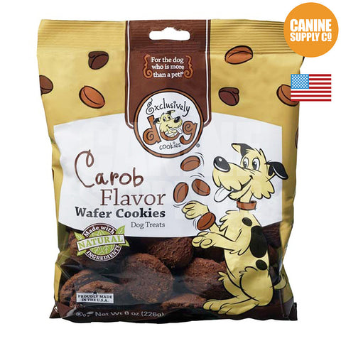 Exclusively Dog Classic Cookies Carob Flavor | Canine Supply Co.