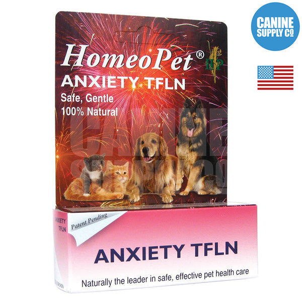 HomeoPet Anxiety TFLN Fireworks | Canine Supply Co.