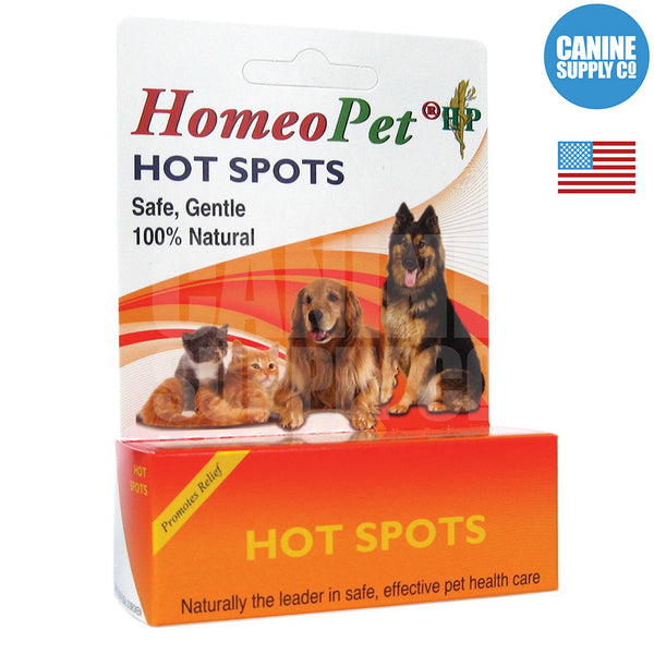 HomeoPet Hot Spots | Canine Supply Co.