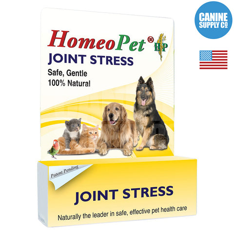 HomeoPet Joint Stress | Canine Supply Co.