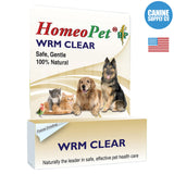 HomeoPet WRM Clear | Canine Supply Co.
