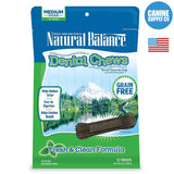 Natural Balance®  Dental Chews Fresh & Clean Formula, Medium | Canine Supply Co.