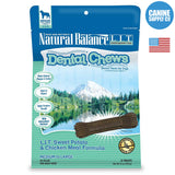 Natural Balance® Dental Chews L.I.T. Sweet Potato & Chicken Meal Formula, Medium | Canine Supply Co.