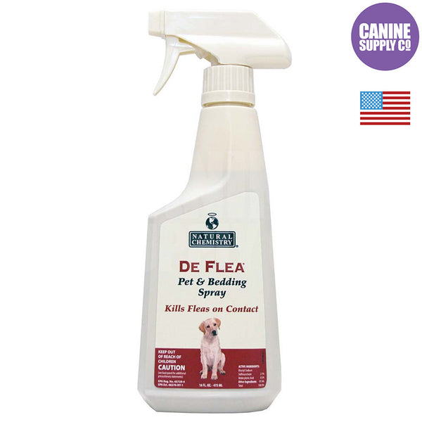 Natural Chemistry DeFlea® Pet & Bedding Spray, 16-oz | Canine Supply Co.