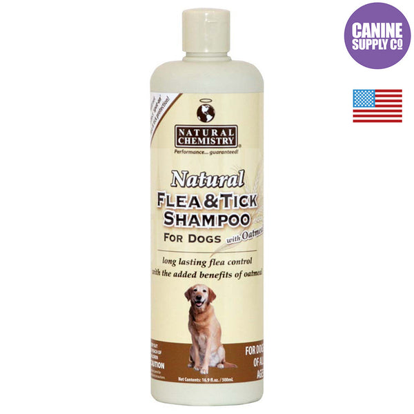 Natural Chemistry Natural Flea & Tick Shampoo™ with Oatmeal for Dogs | Canine Supply Co.