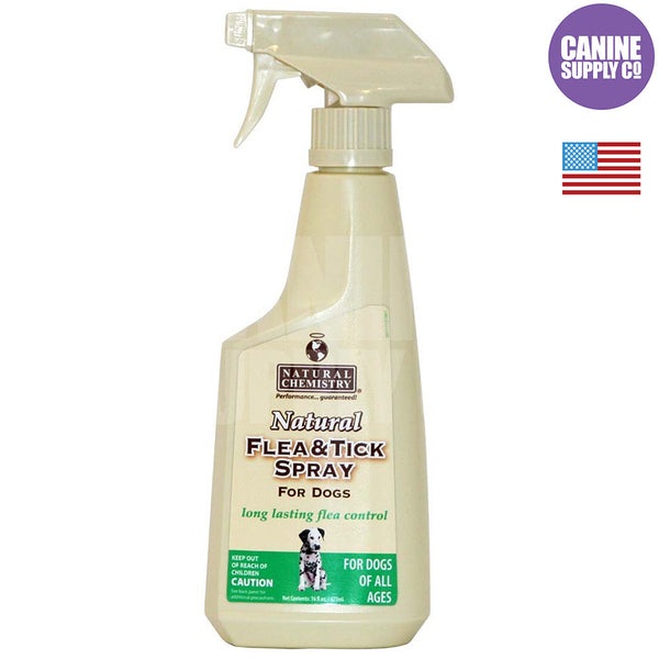 Natural Chemistry Natural Flea and Tick Spray™ for Dogs, 16-oz | Canine Supply Co.