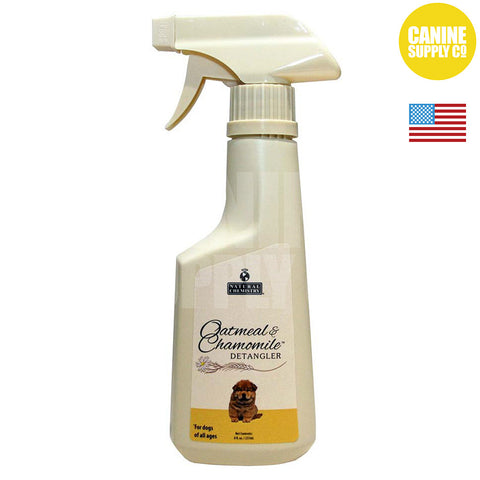 Natural Chemistry Oatmeal & Chamomile Detangler Spray for Dogs | Canine Supply Co.
