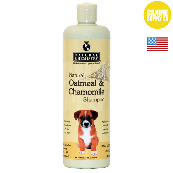 Natural Chemistry Natural Oatmeal & Chamomile Shampoo™ | Canine Supply Co.