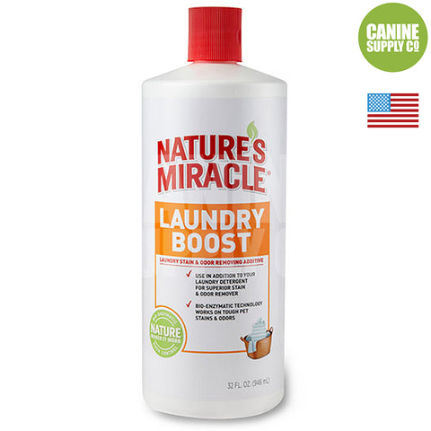 Nature's Miracle Laundry Boost Pet Stain & Odor Remover Additive | Canine Supply Co.