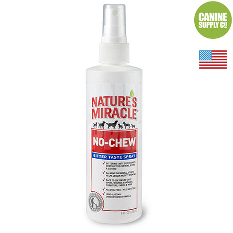 Nature's Miracle® No Chew Bitter Taste Spray, 8-oz | Canine Supply Co.