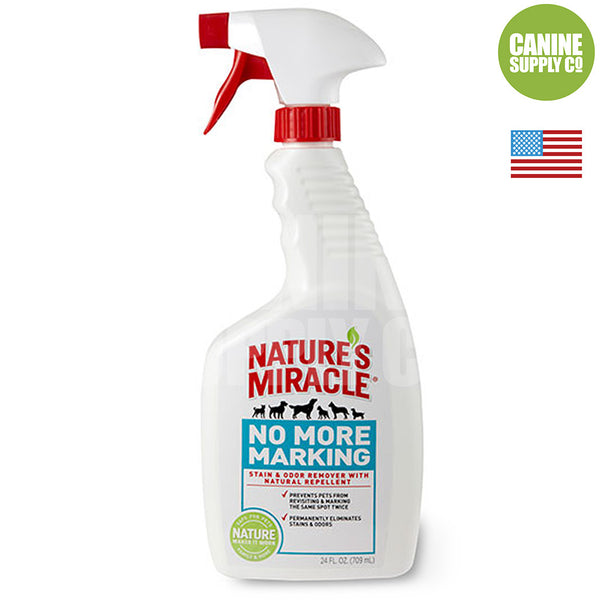 Nature's Miracle® No More Marking Pet Stain & Odor Remover, 24-oz | Canine Supply Co.