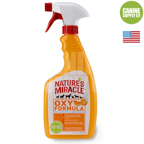 Nature's Miracle® Oxy Stain & Odor Remover, 24-oz | Canine Supply Co.